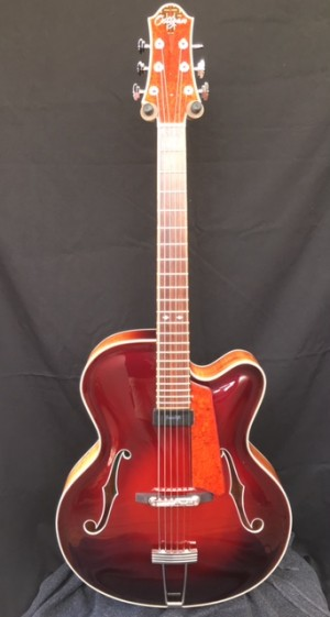 Seventeen inch Blackwood and Engleman Spruce Jazz Guitar